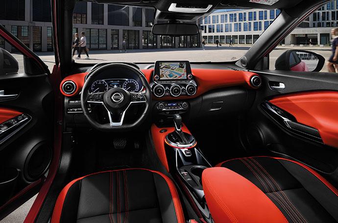 Nissan Juke Interiör
