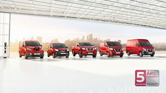 Nissan Transportbilar hos Bilkompaniet