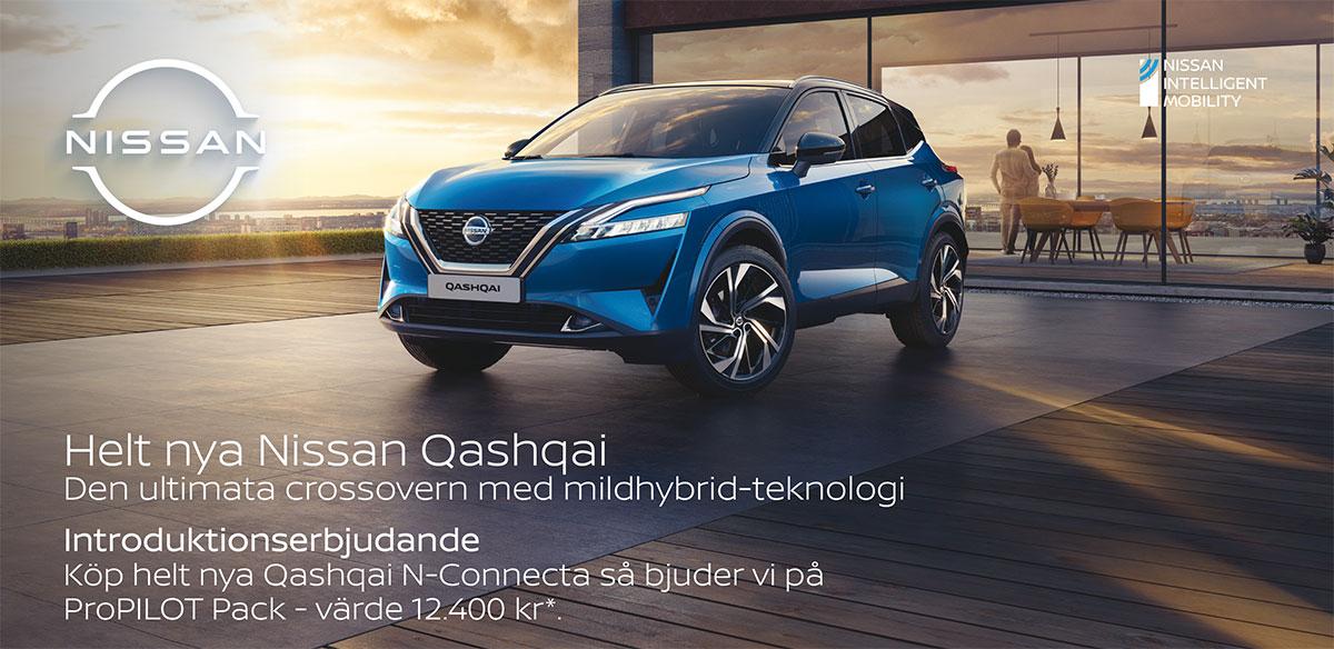 Helt nya Nissan Qashqai introduktionserbjudande!