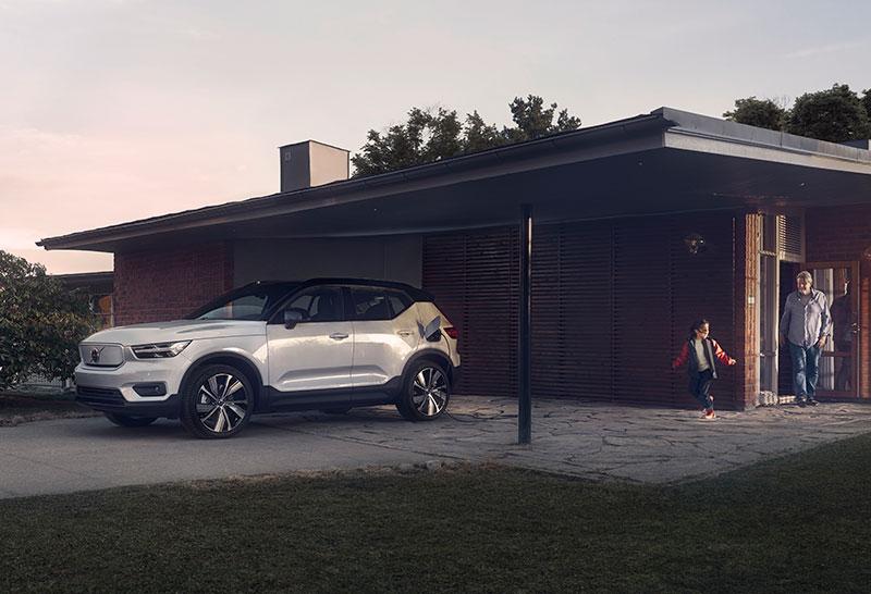 Volvo XC40 recharge Framtiden är elektrisk