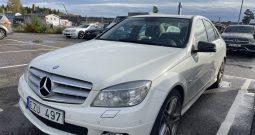 Mercedes-Benz C 220 CDI BE BlueEFFICIENCY 170hk Värmare SoV-hjul