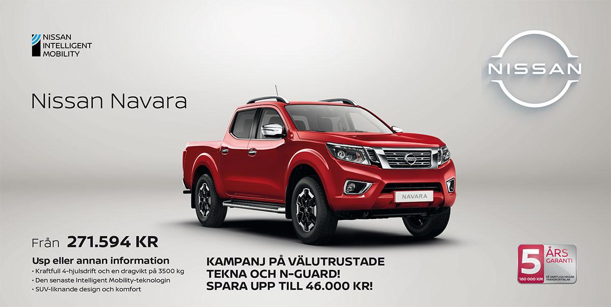 Nissan Navara hos Bilkompaniet kampanj q4-2021